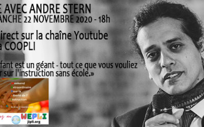 Replay du Live d'André Stern